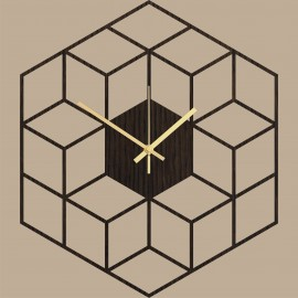 Sieninis laikrodis Cubic