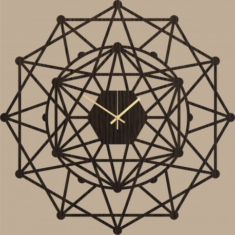 Sieninis laikrodis Kaleidoscope 70cm
