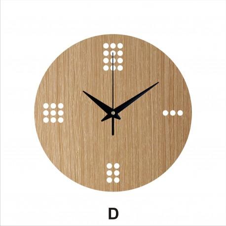 Sieninis laikrodis Dots 30cm