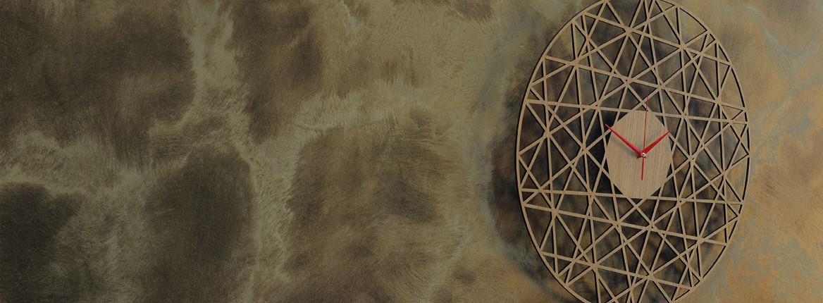 Laikrodis Polygonal