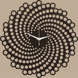 Sieninis laikrodis Spiral 70cm