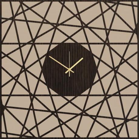 Sieninis laikrodis Squaregonal 70cm